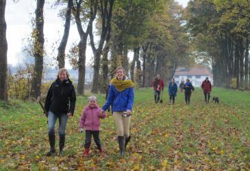 Wandelaars Parkbos - Foto Griet Buyse