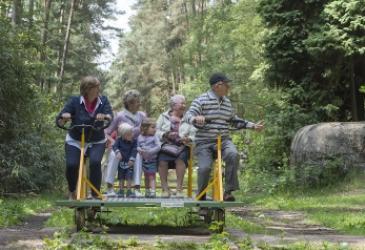 Spoorfietsen ©James Van Leuven