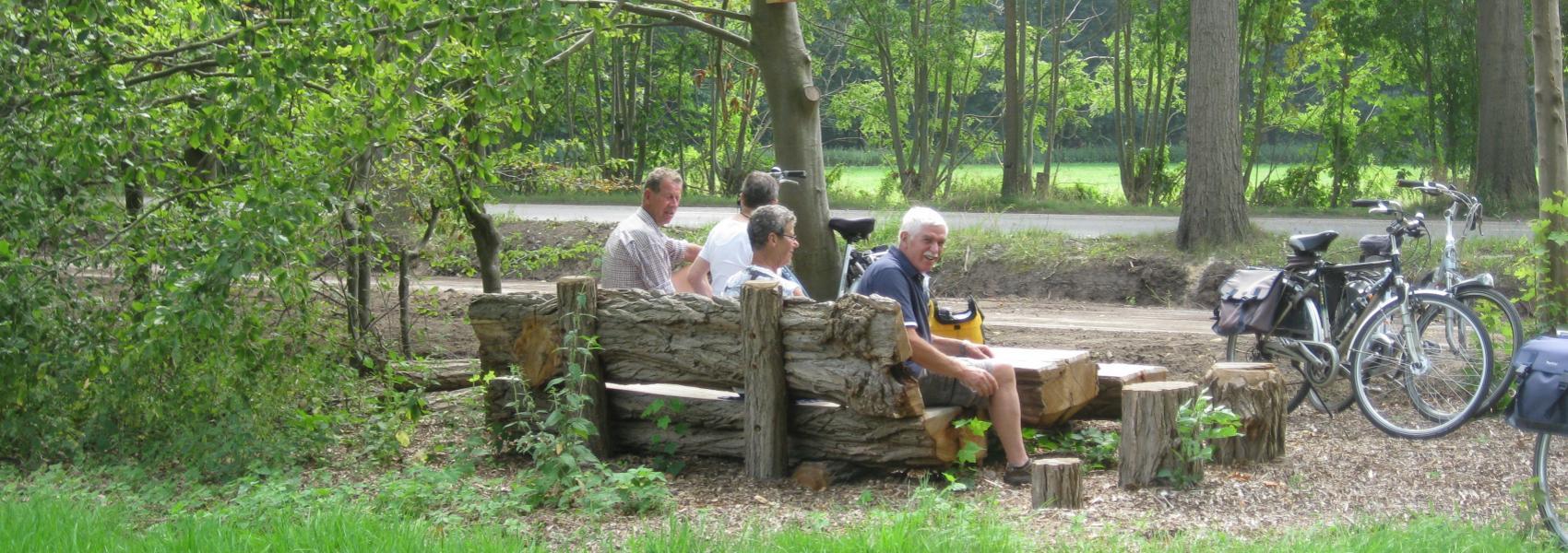 picknicken in Gewestbossen Ravels