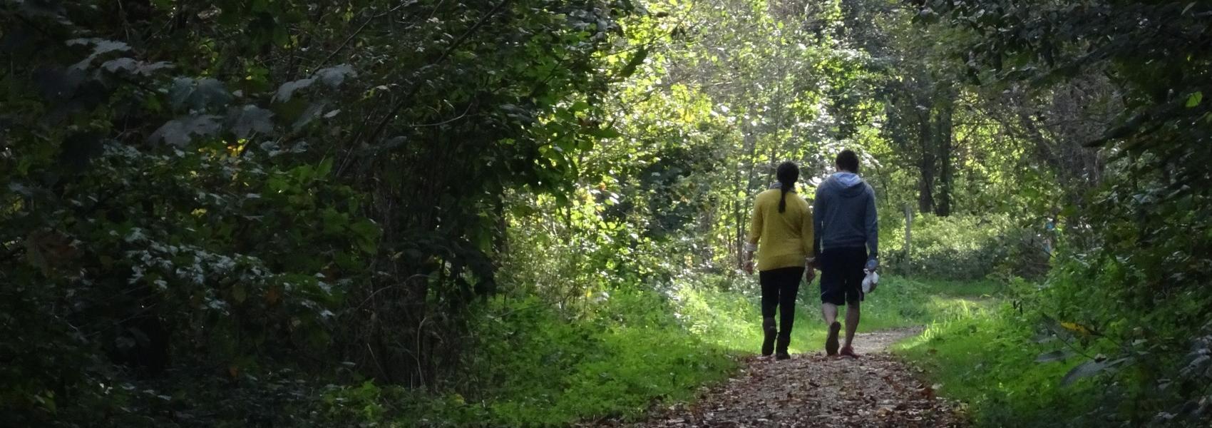 2 wandelaars