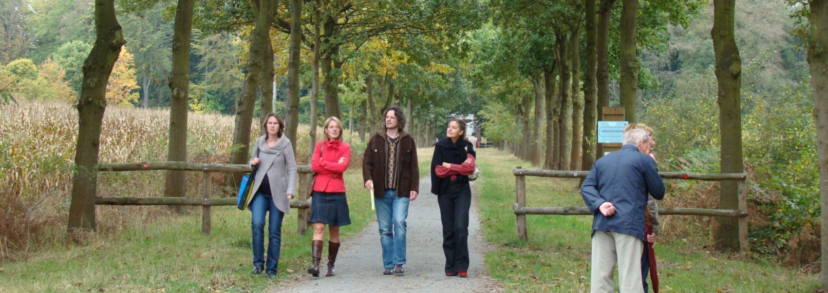 Wandelaars Parkbos
