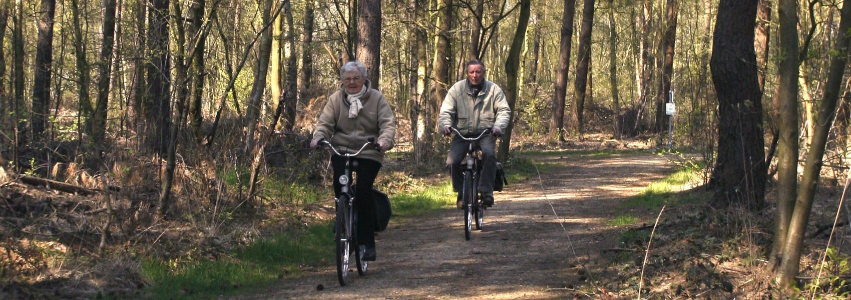 fietsen in het Elsenbos