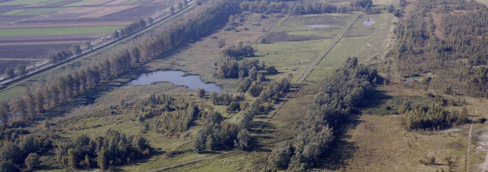 luchtfoto van Haasop