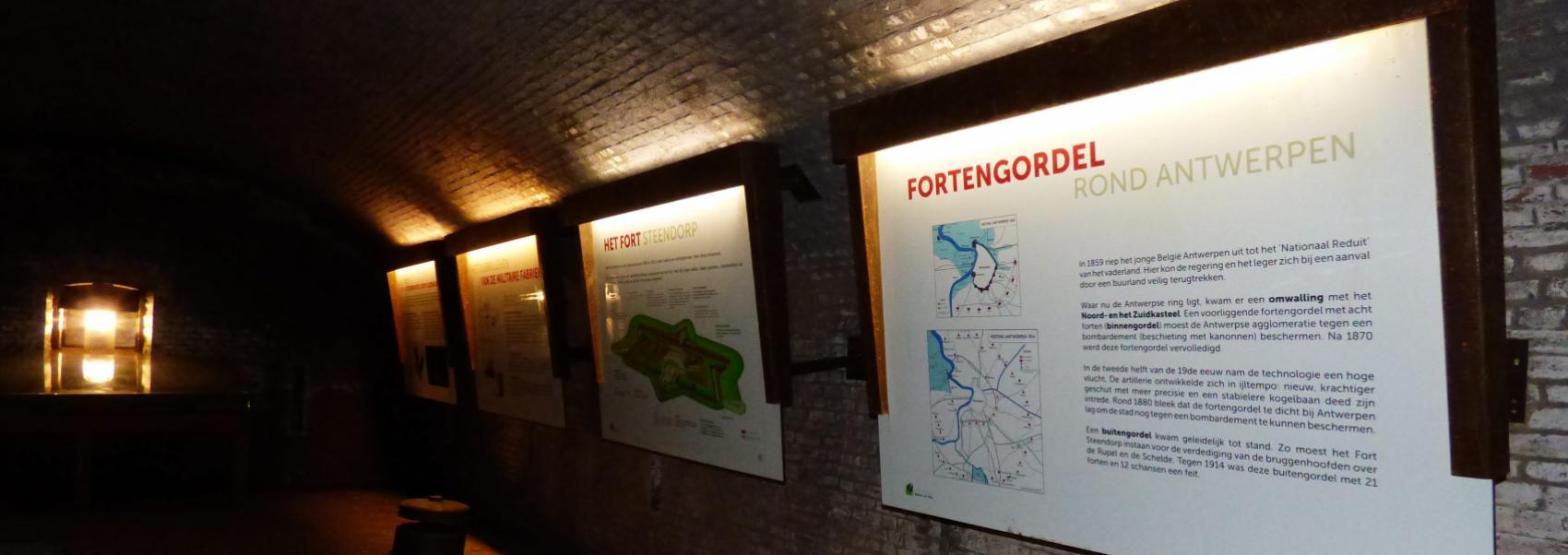 Kruitkamer in het fort