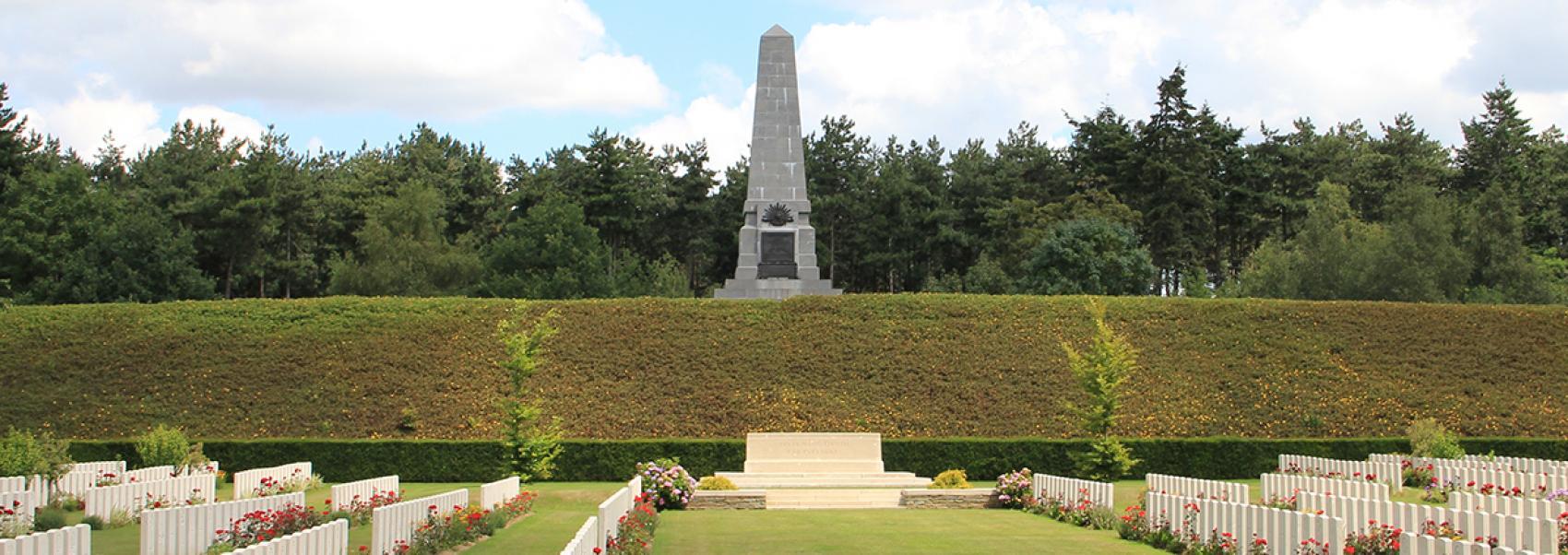 militaire begraafplaats