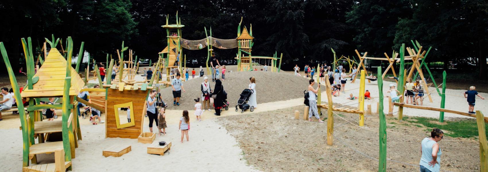 speeltuin in Drie Fonteinen